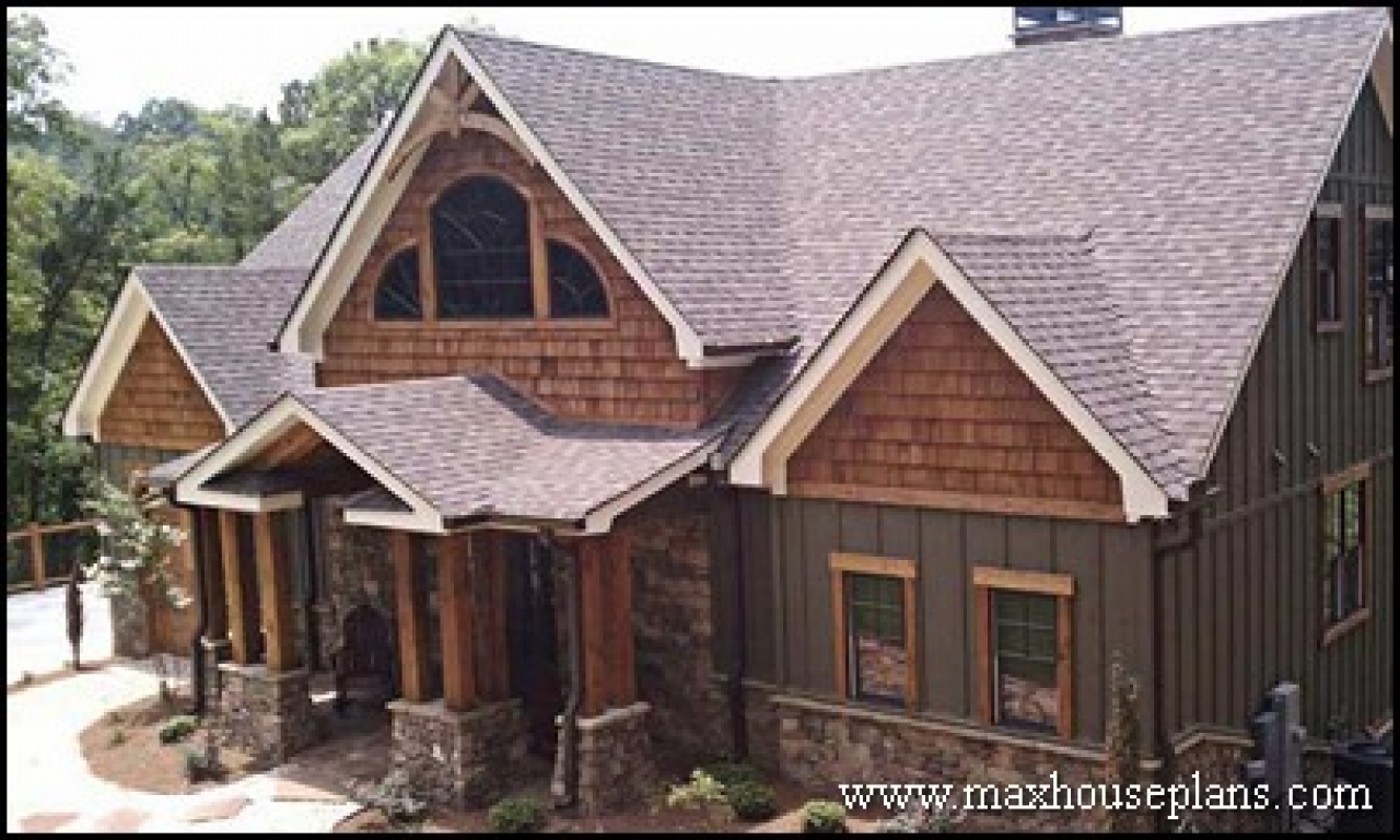 Craftsman style lake home plans best lake homes custom for Best lake house plans