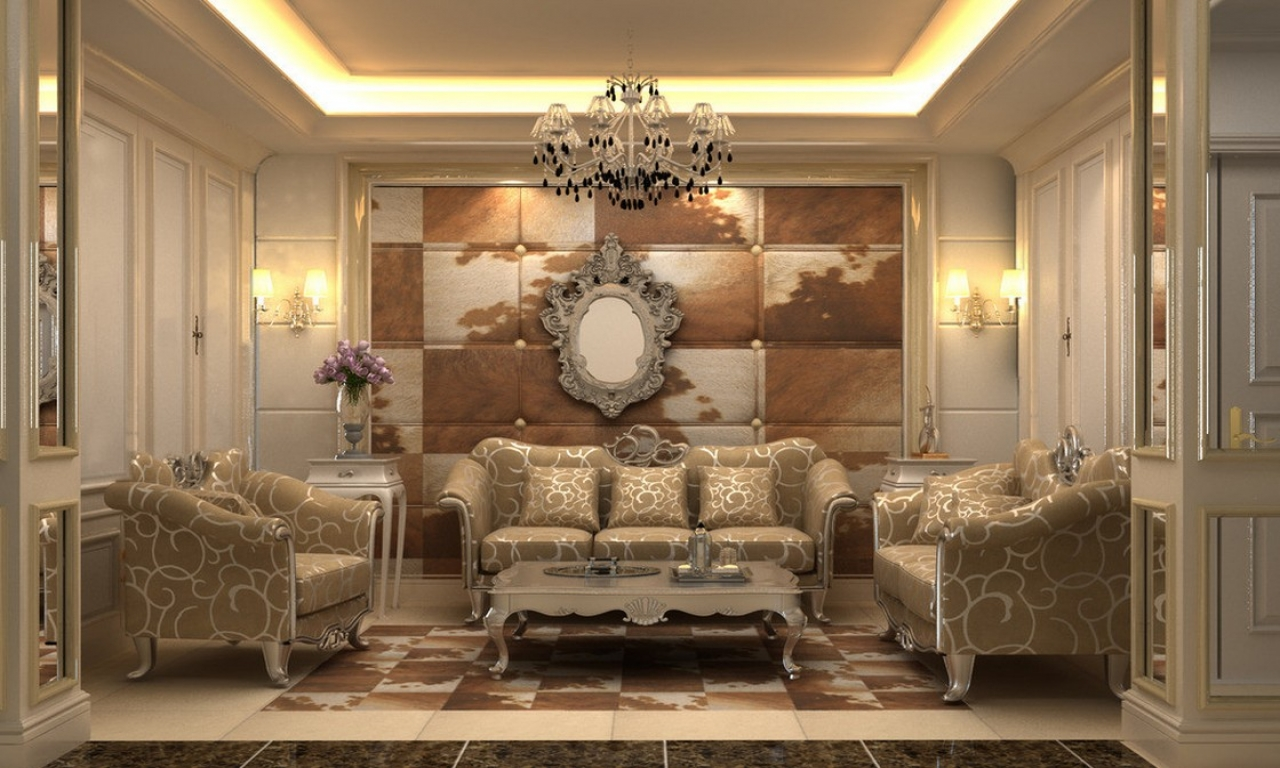 Neoclassical Living Room Interiors Victorian Style Living