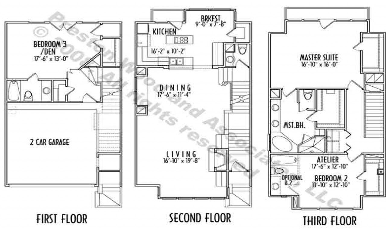 Townhouse House Plans furthermore Houseplan087D 0099 besides 504895808204525919 also Plans Small Home Unique Open Floor Plans Unusual House Floor F203258395a29dc3 further 1600 Square Foot Cottage Plans. on extremely narrow house plans