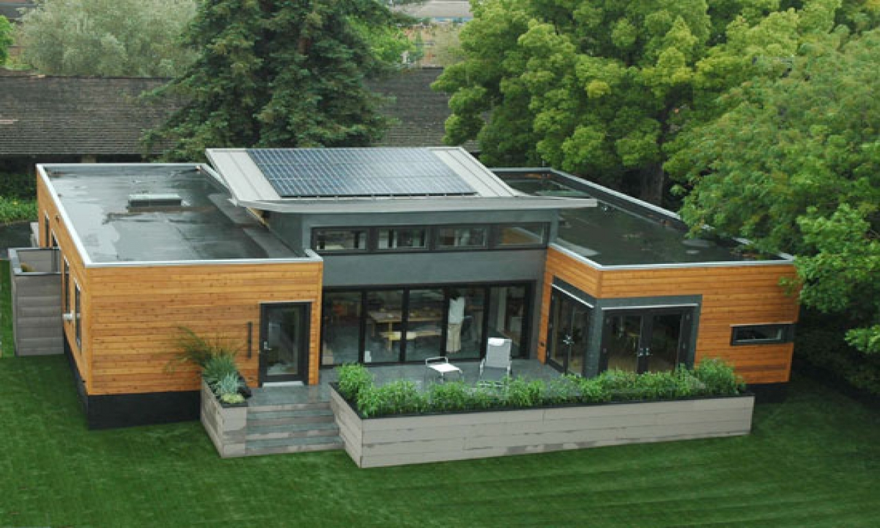 Green Shipping Container Home Designs