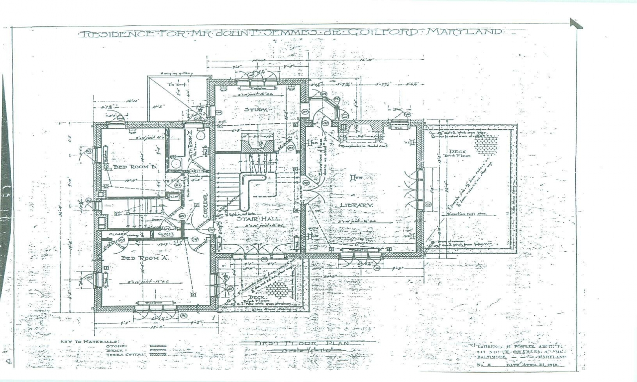 Baltimore row house floor plan historic house floor plans for Victorian row house plans