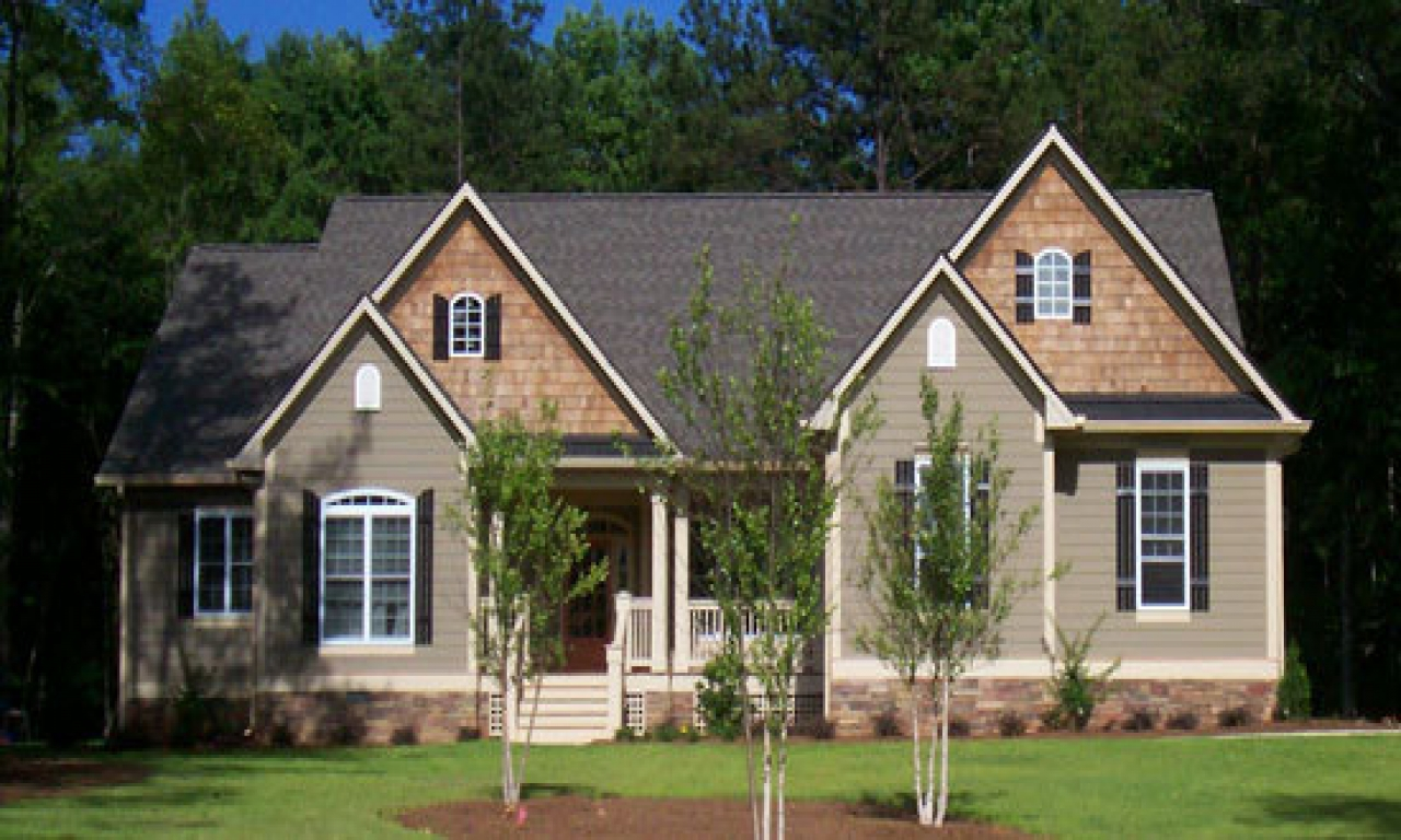 Craftsman Style Kitchen Small Craftsman Ranch Home The