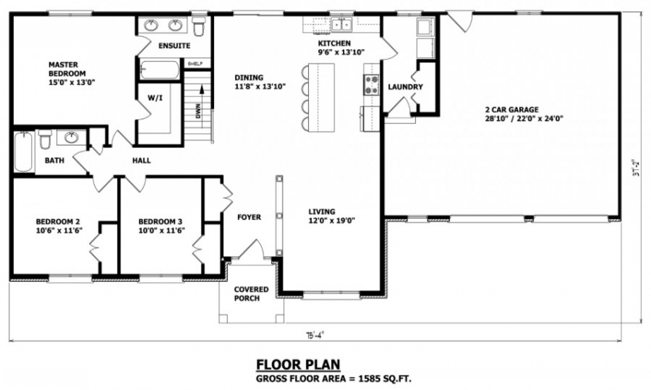 Canadian house and home house plans canada canadian for Bungalow house plans alberta