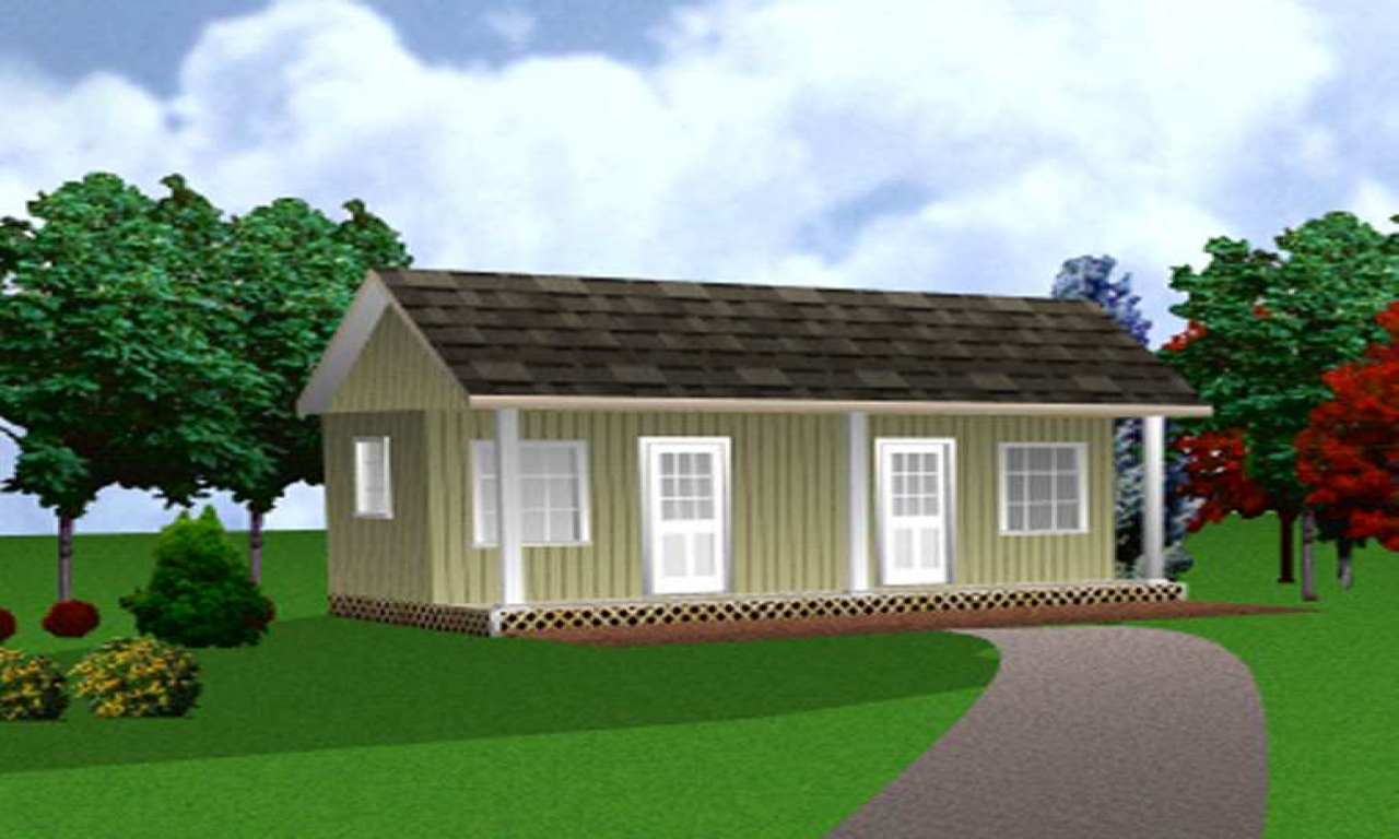 Two Bedroom House Plans Small 2 Bedroom Cottage House