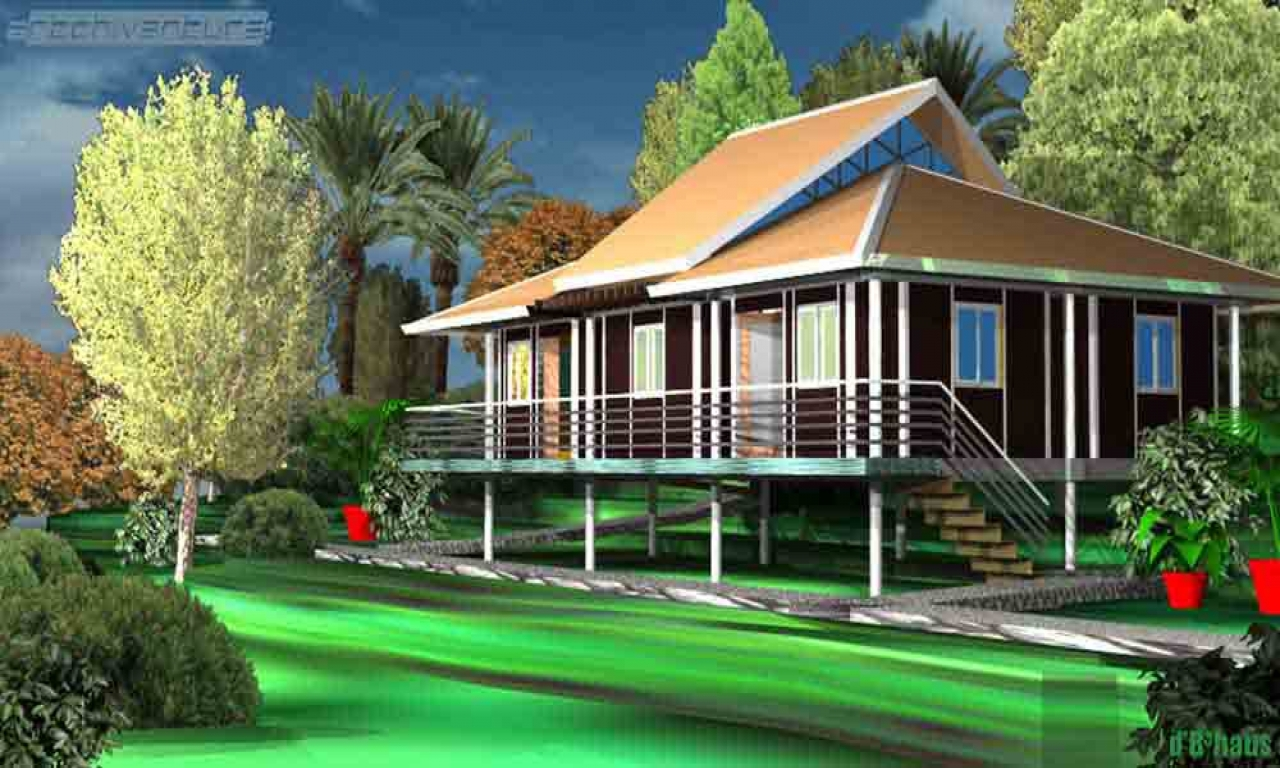Tropical House Design Caribbean Tropical House Designs