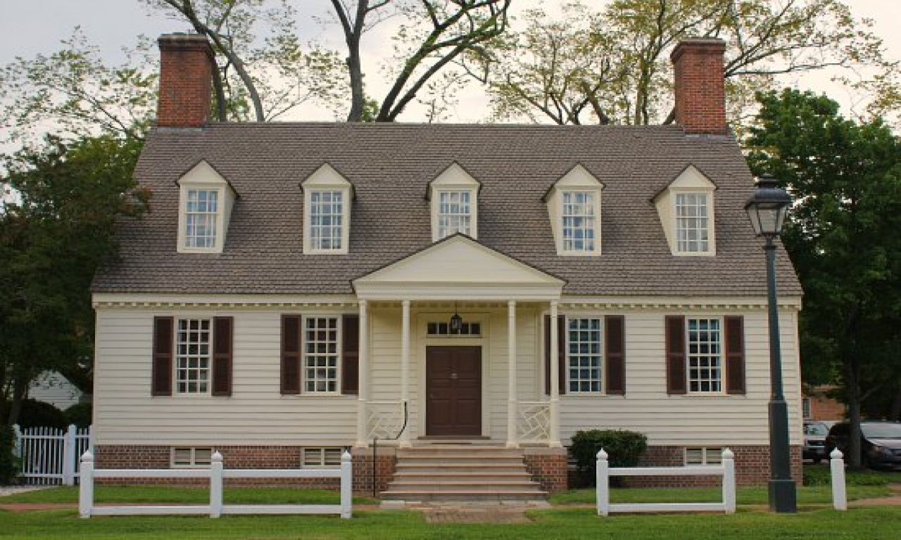 Colonial williamsburg style house colonial williamsburg for Colonial home designs