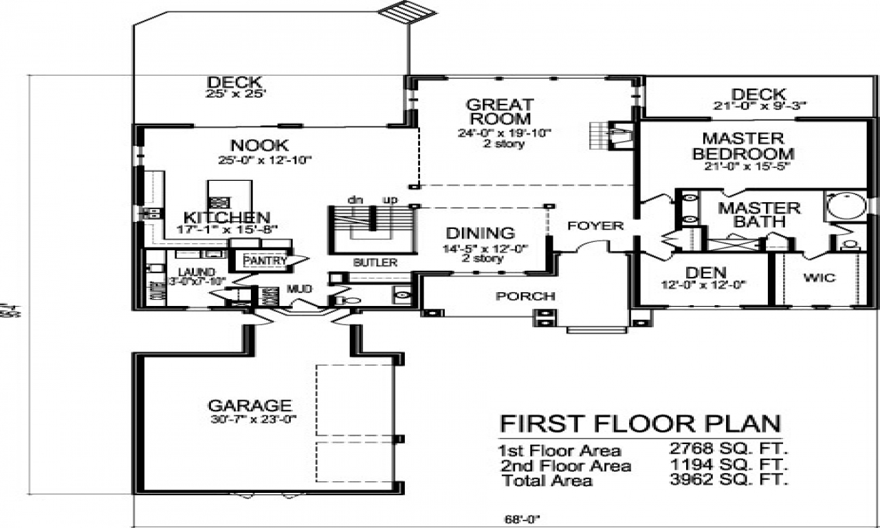 3 Story Floor Plans: 3-Story Brownstone Floor Plans 2 Story Open Floor House