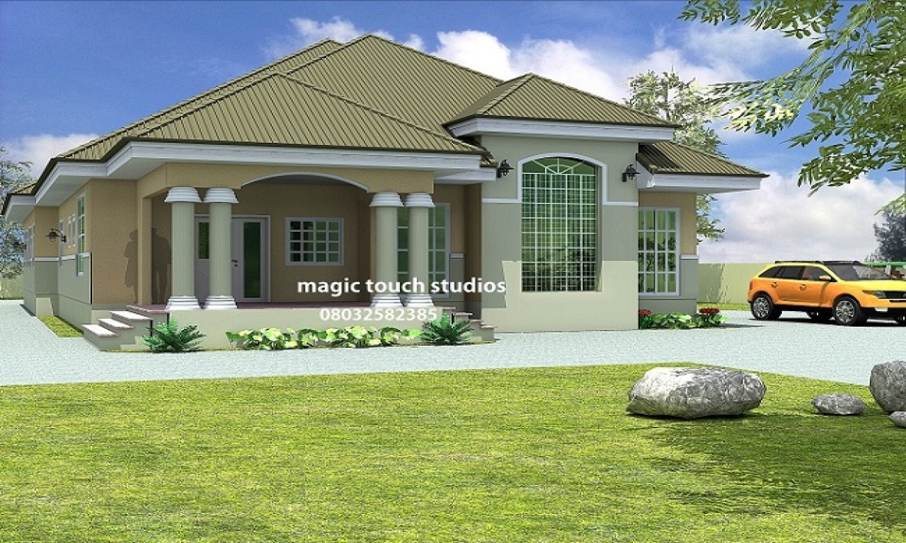 5 bedroom victorian house 5 bedroom bungalow house plan in for Rooms in a victorian mansion