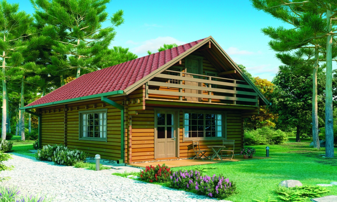 Best luxury log home cabin storey