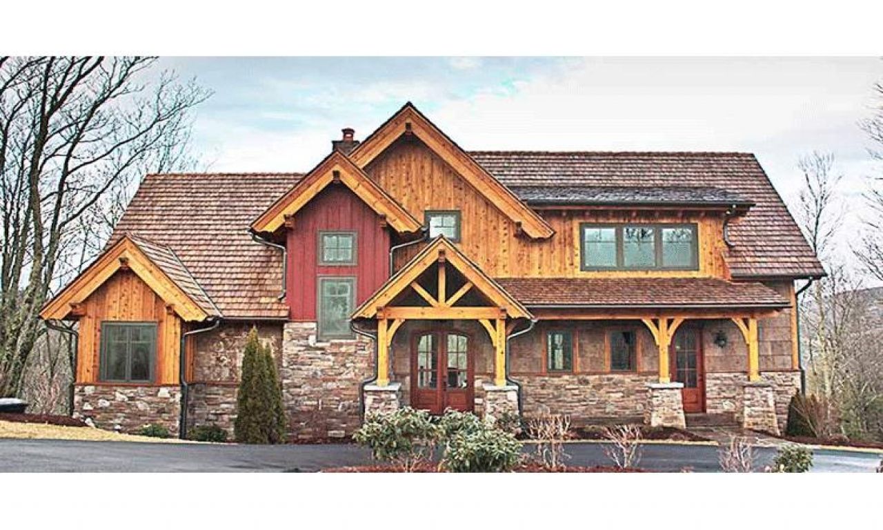 Rustic mountain home designs rustic mountain house floor for Www houseplans net