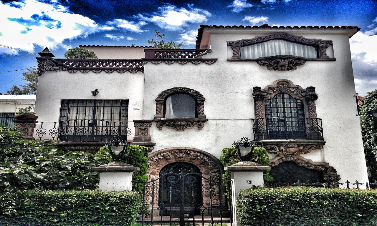 Mexican Spanish Colonial Style Homes Spanish Colonial