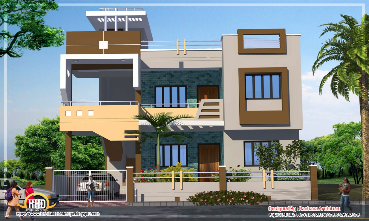 Indian house designs and floor plans latest house design for Indian home designs photos