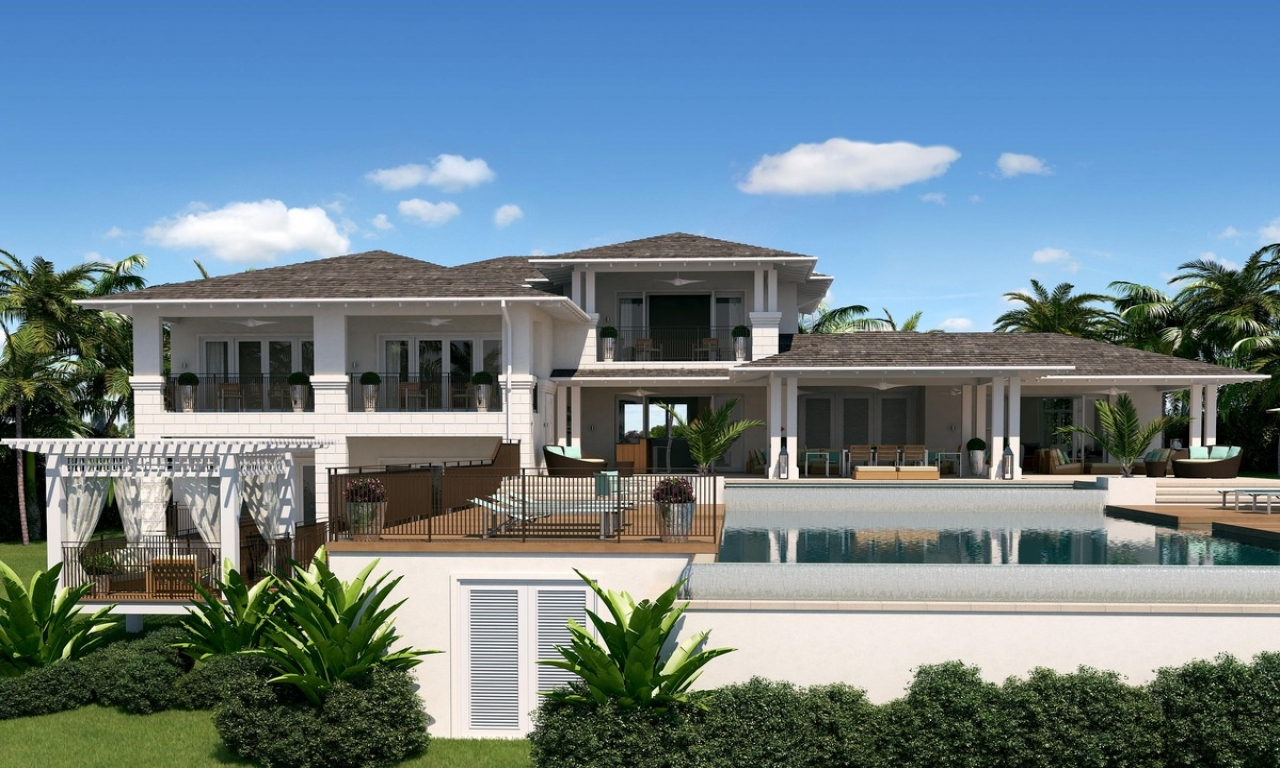 88cdd2af12633feb Caribbean Style House Bahama Style House Plans on Small Two Story House Plans