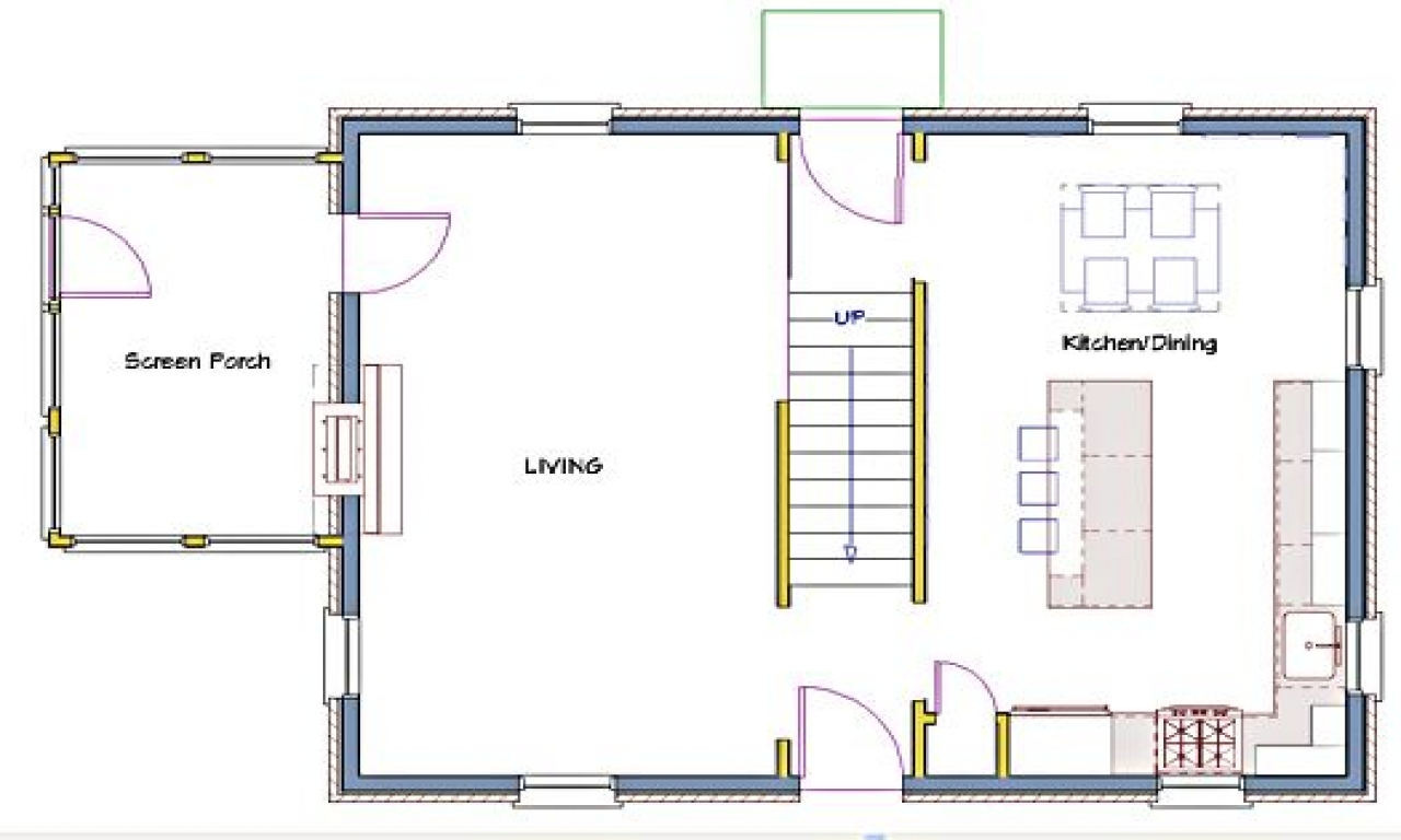 Center hall colonial floor plans side hall colonial for Large colonial house plans