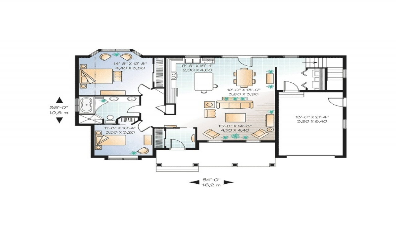 Styles Cottage Style House Plans Two Bedroom European