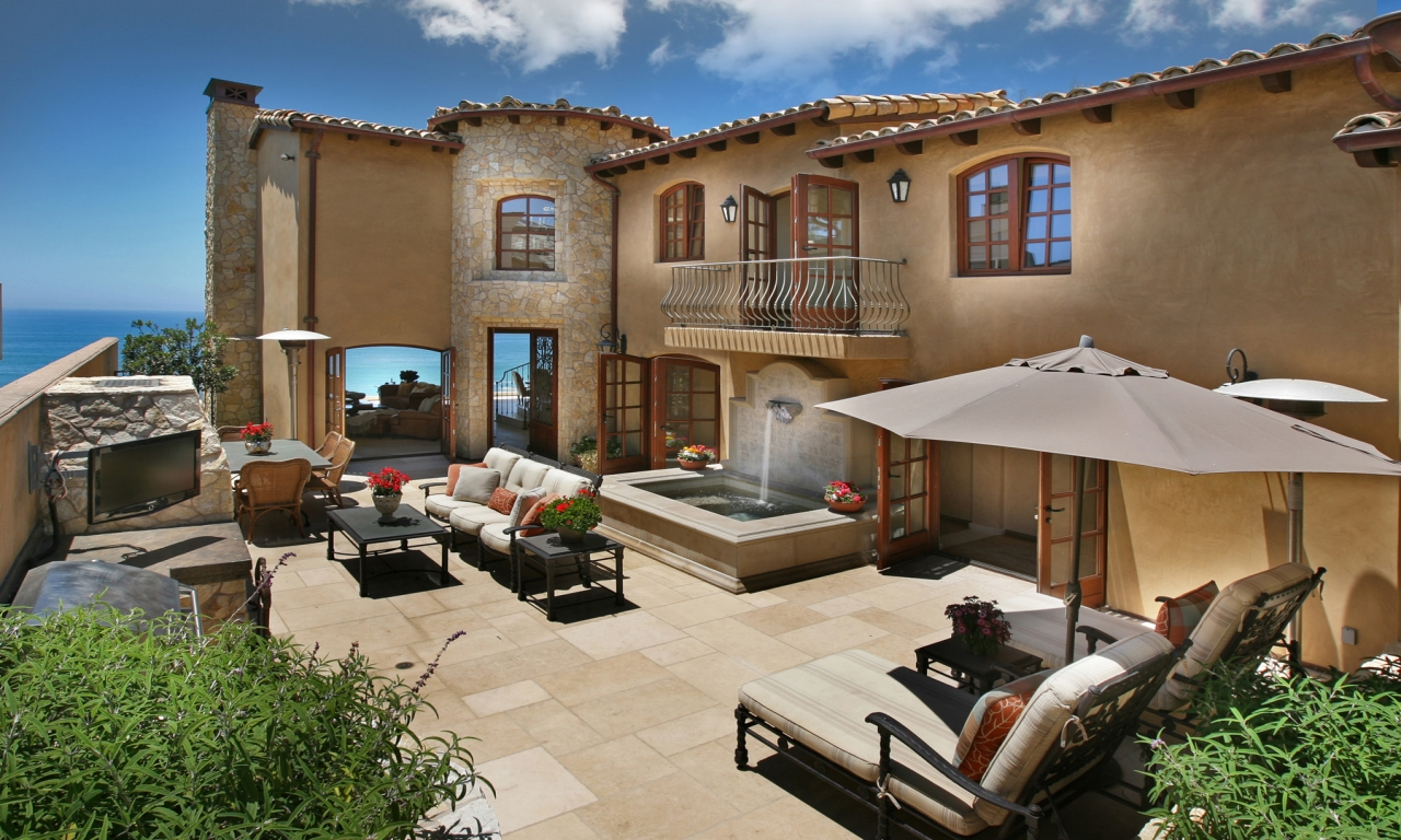 Mediterranean Style Home Interiors Tuscan Style Homes