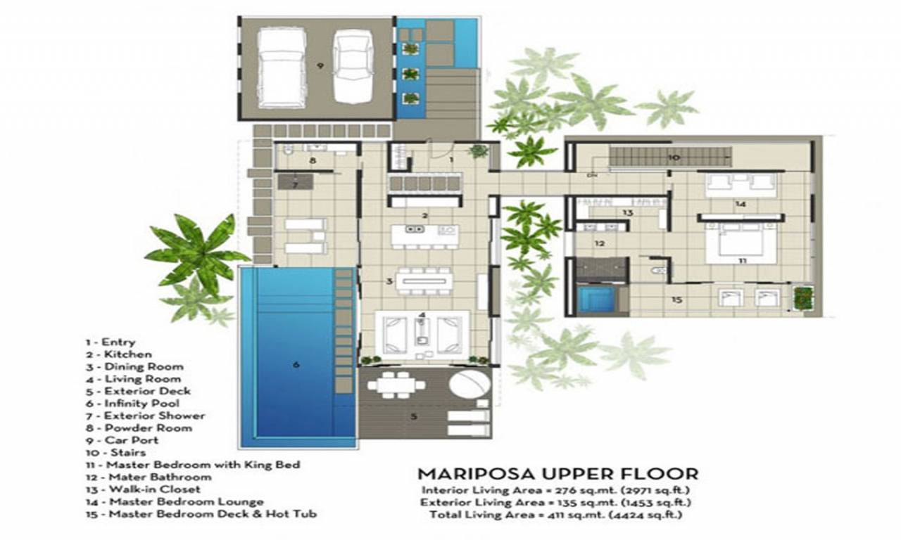 Architectural House Plans Modern Design Modern Villa ...