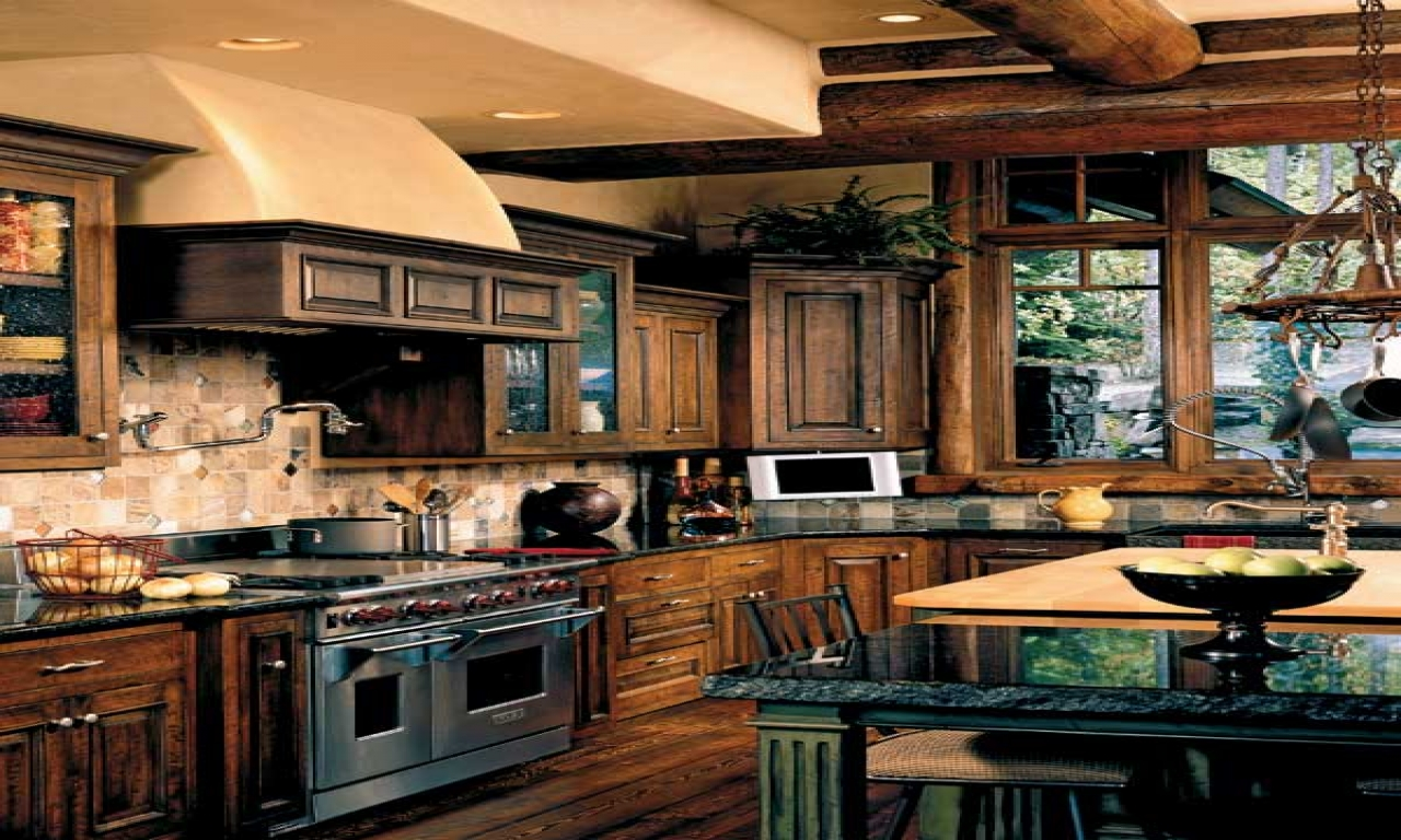 Rustic Italian Farmhouse Kitchens Rustic Dream Kitchen Old World Houses Treesranch Com