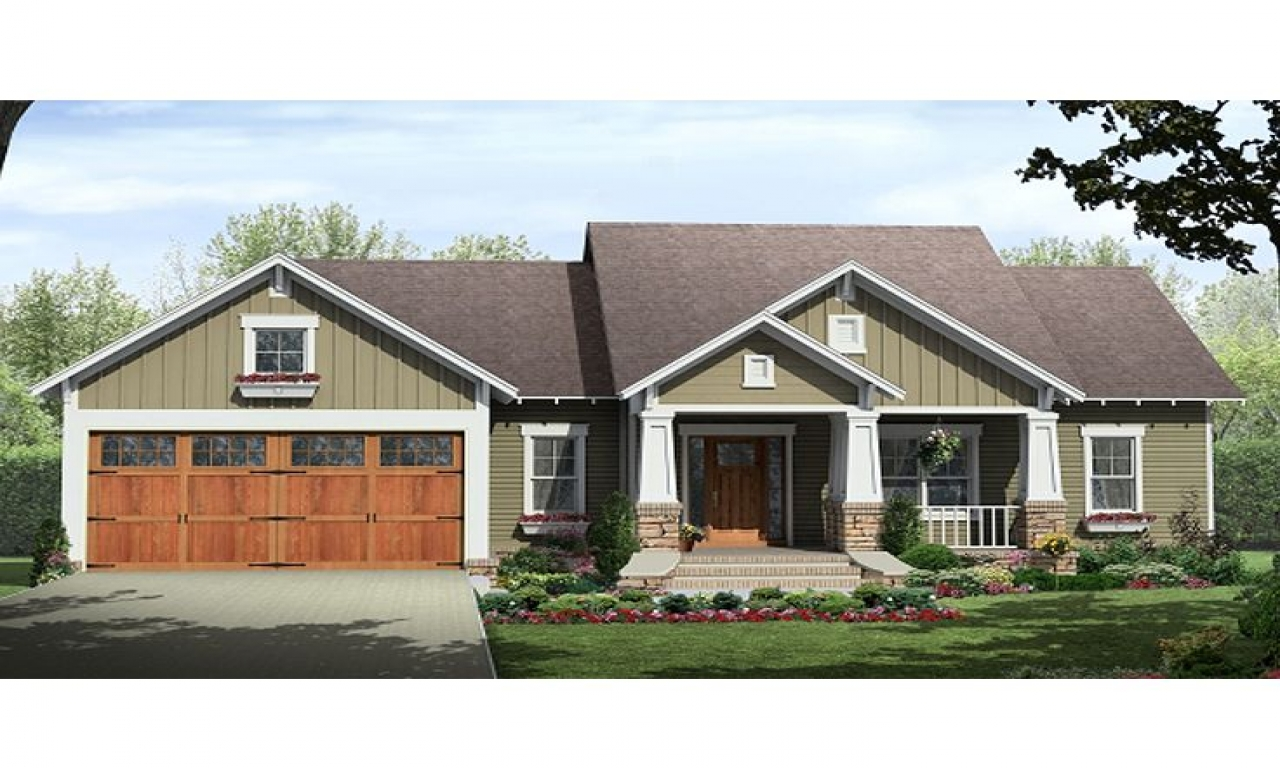 Small Craftsman Bungalow Small Craftsman Home House Plans