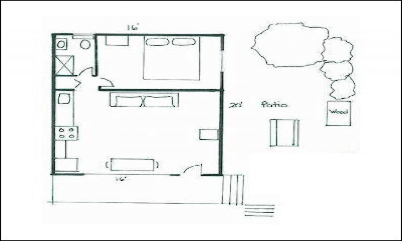 Small cabins off the grid small cabin house floor plans for Cabin building plans free