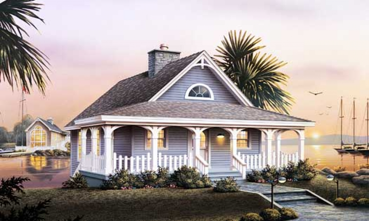 2 bedroom cottage style house plans beach cottage style for 3 bedroom beach house plans