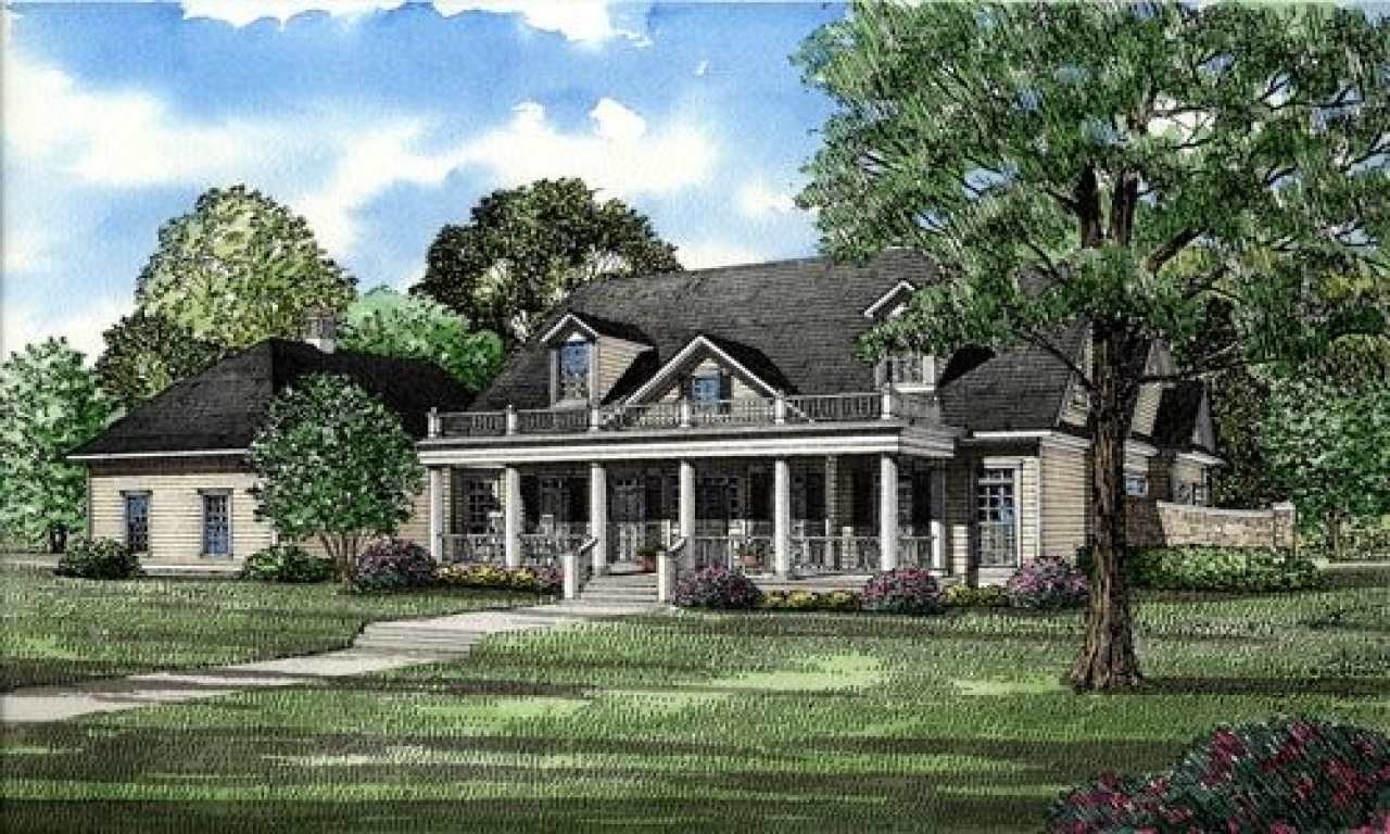 Traditional Colonial House Plans Colonial Southern House