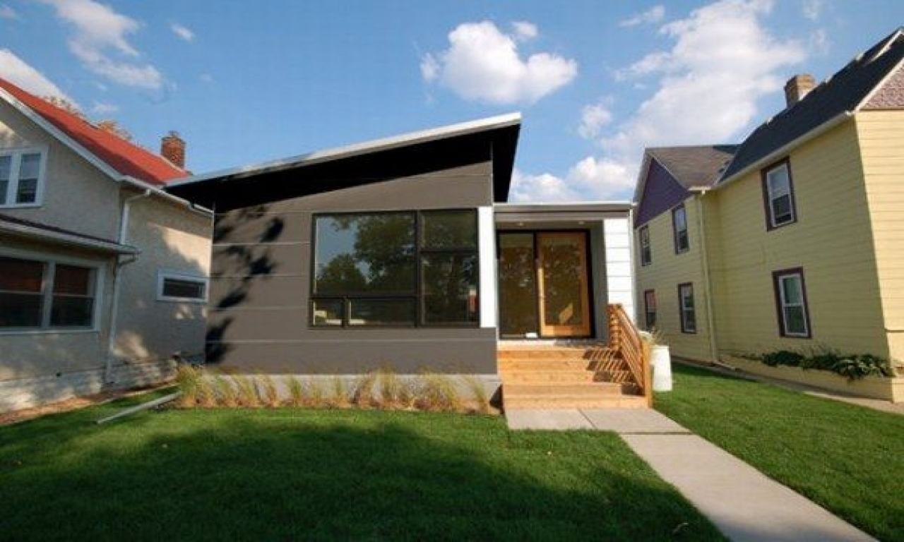 Small modern prefab floor plans small home modern modular for Modern house building