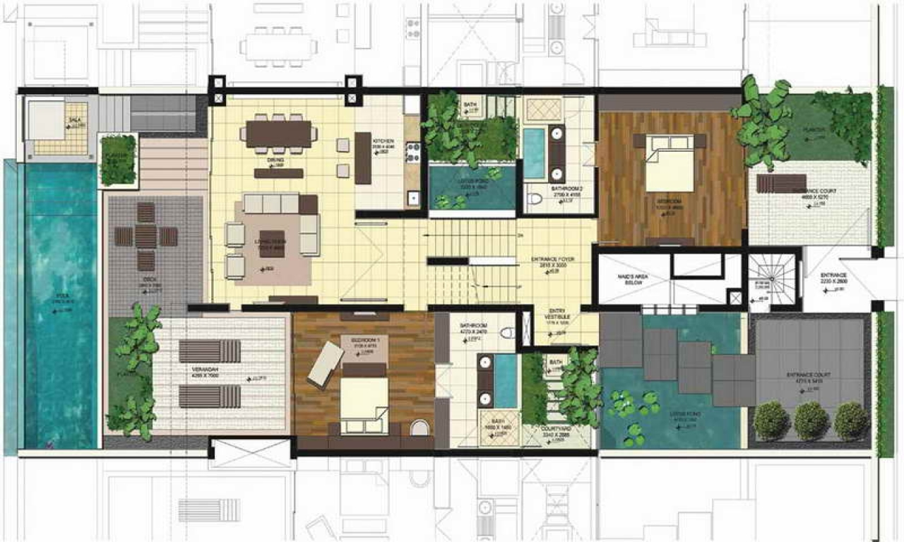 Unique ranch house floor plans ranch floor plans unique for Cool house plans ranch