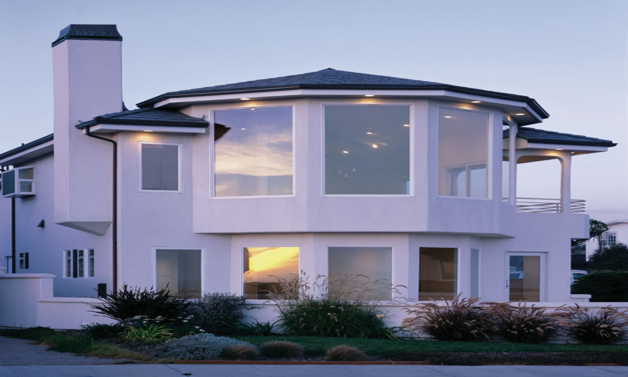 Contemporary Home Windows Modern Homes With Windows