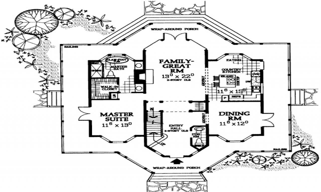 Victorian Style Floor Plan Dream House Pinterest Old