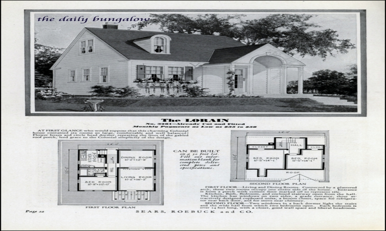 Showing the 6 photos of 1930s house plans 1930s house for 1930s house plans