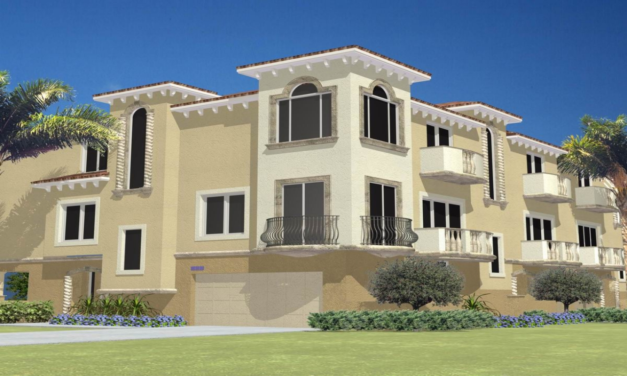 Multi family house plans designs two family homes family for Multifamily home plans