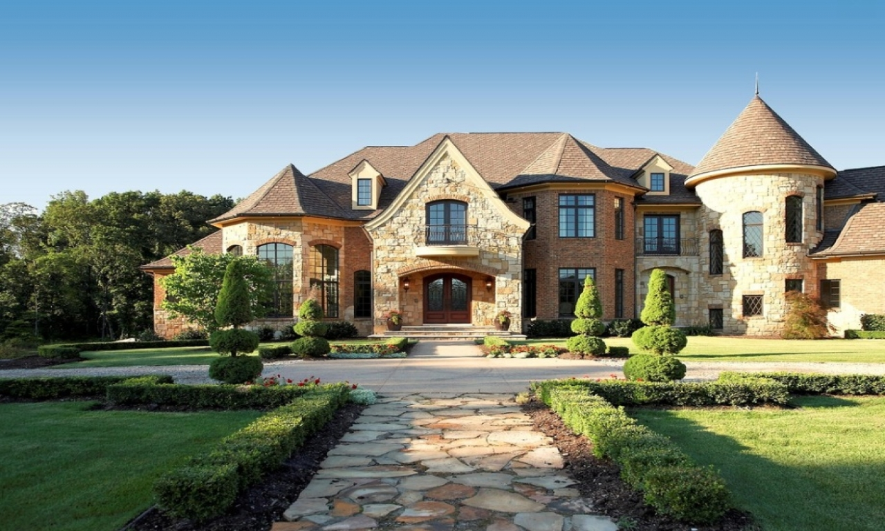 French Country Exterior Home House French Country Style ...