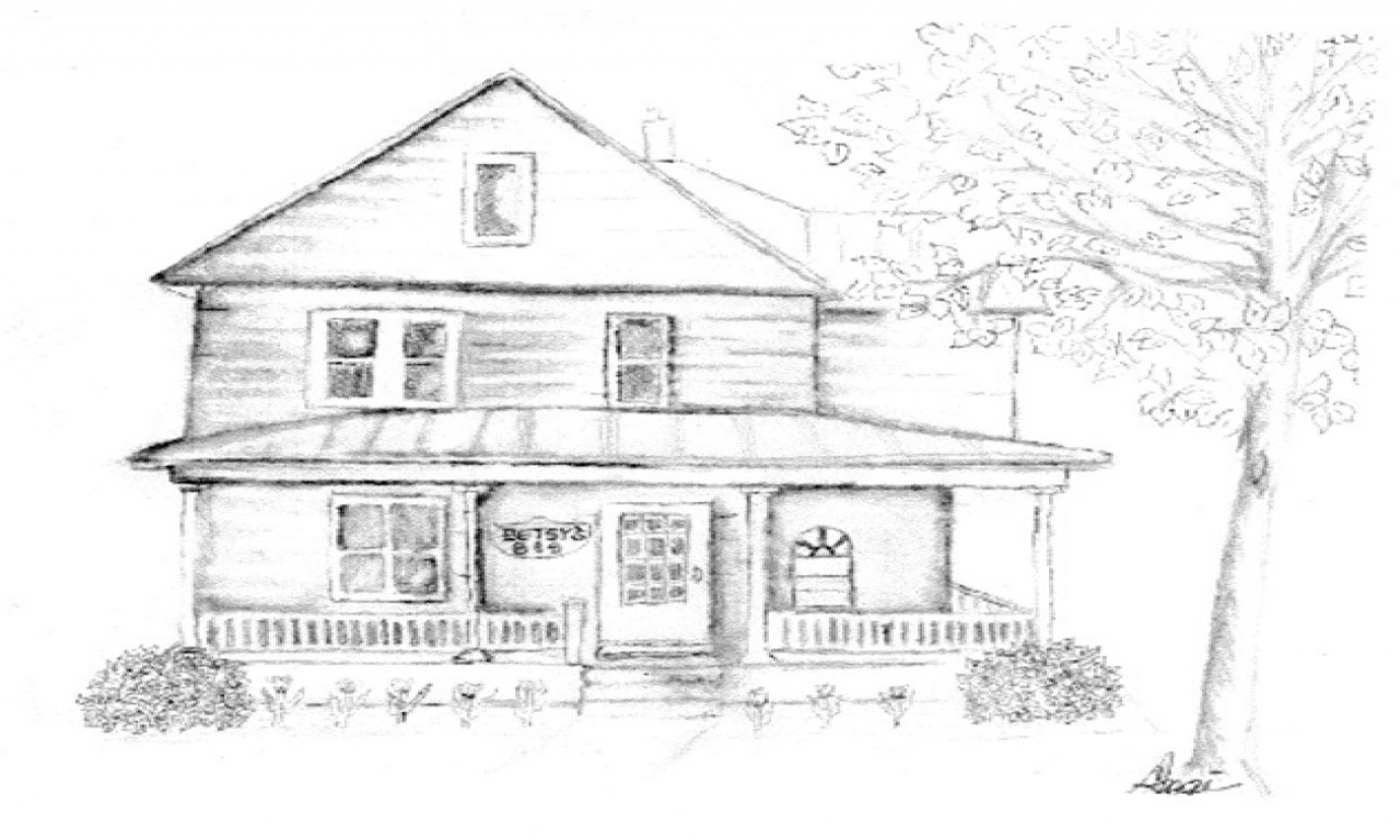 Beautiful old house drawing beautiful pencil drawings for Beautiful classic houses