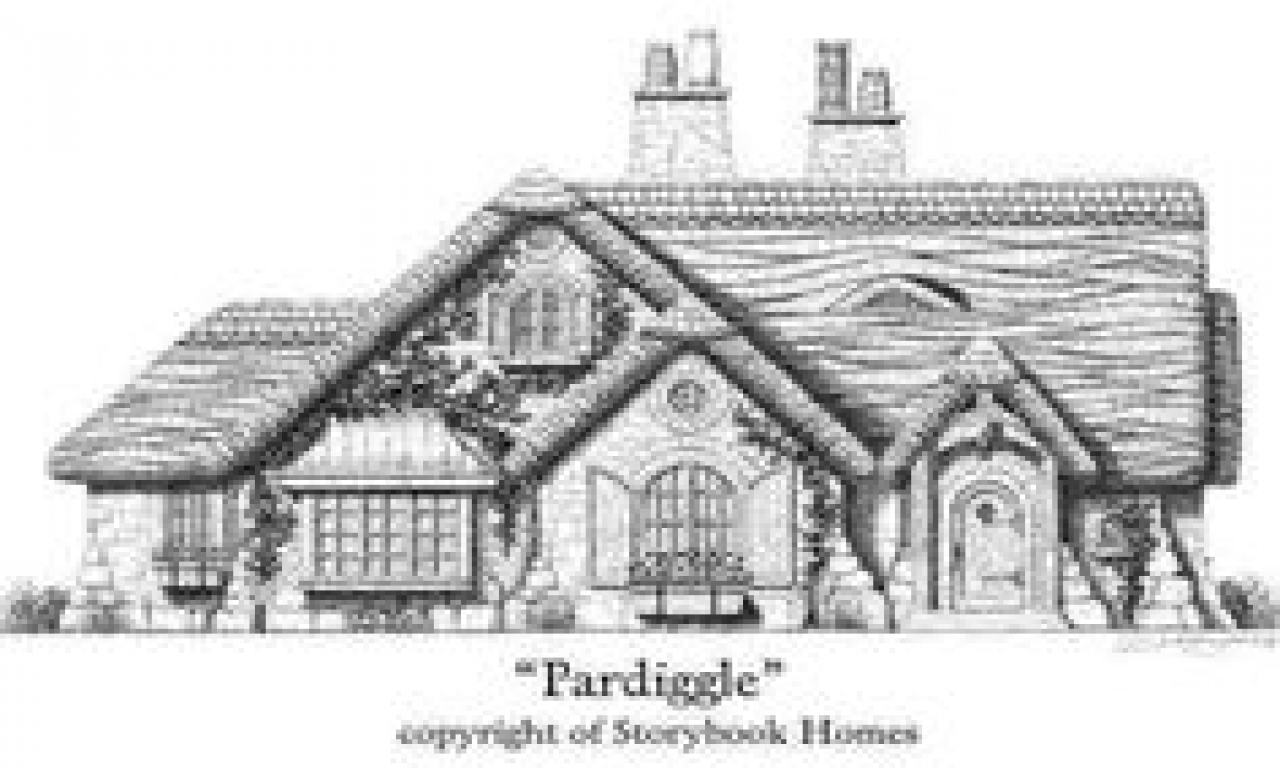 Gothic cottage house plans storybook cottage house plans for Gothic cottage plans