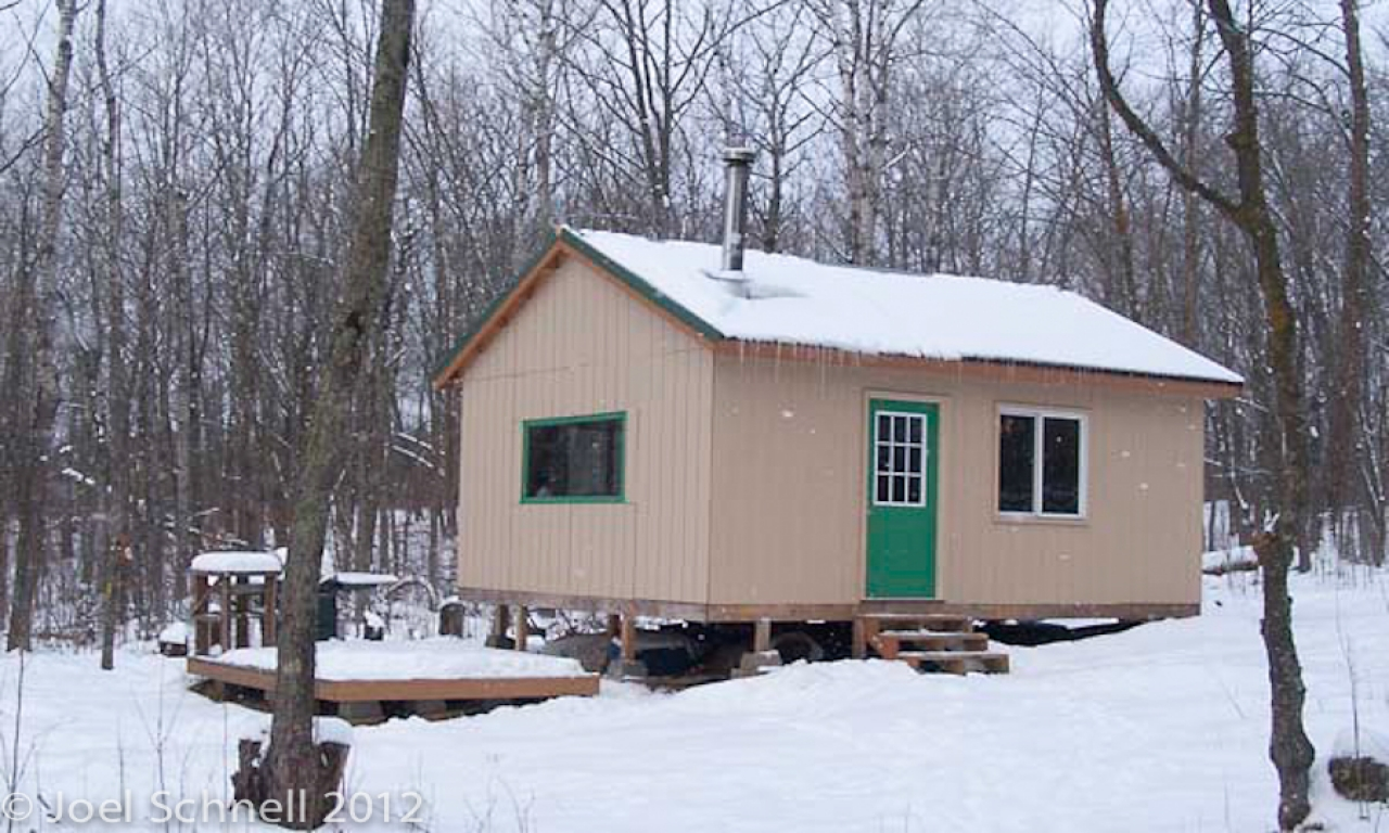 Building A Hunting Cabin In The Northwoods Ruffed Grouse