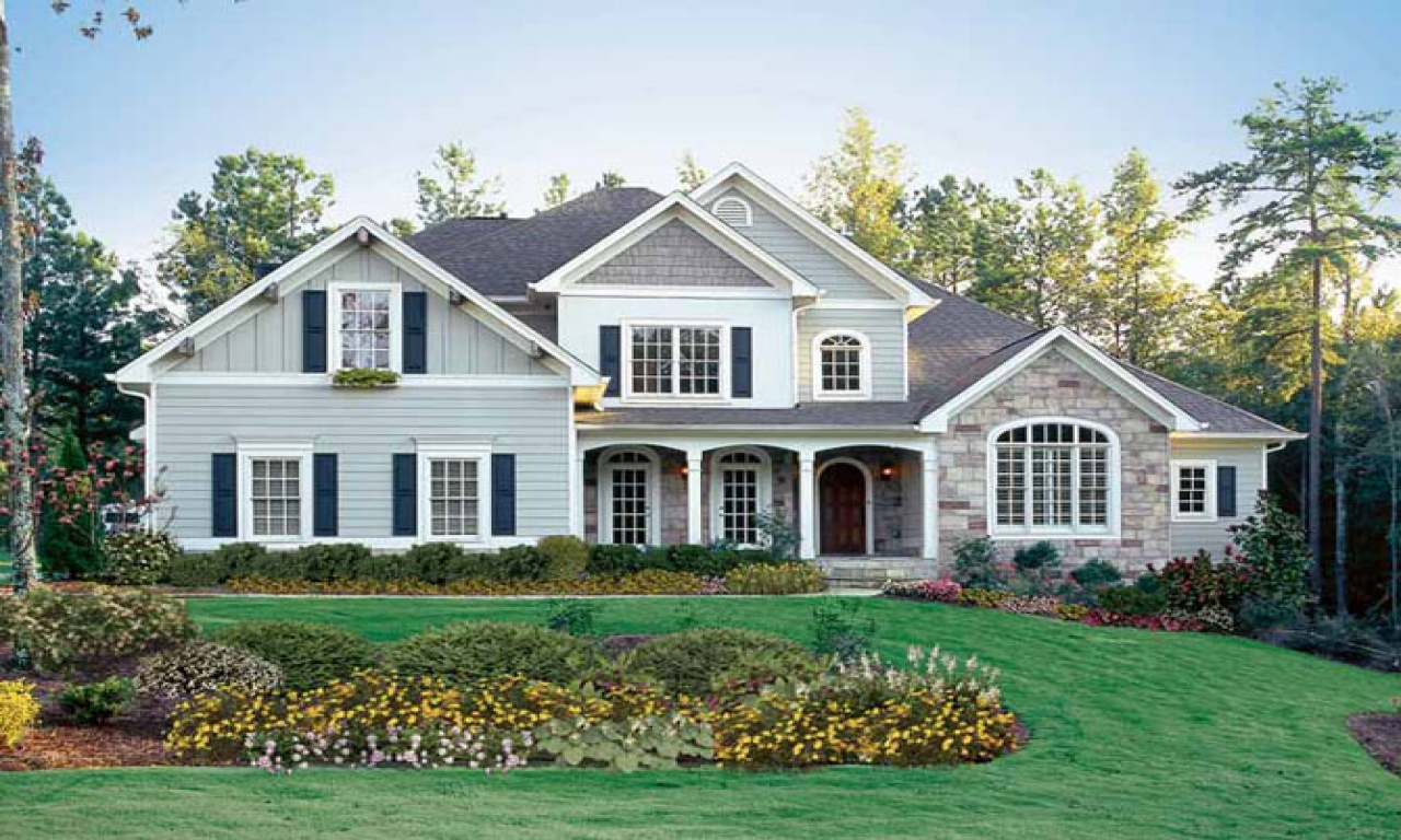 American dream family american dream home house design for American style homes