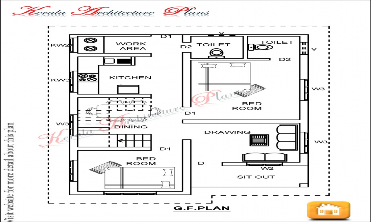 Best 3 Bedroom House Plans 3 Bedroom House Plans, 1200 sq ft house plan  Treesranch.com