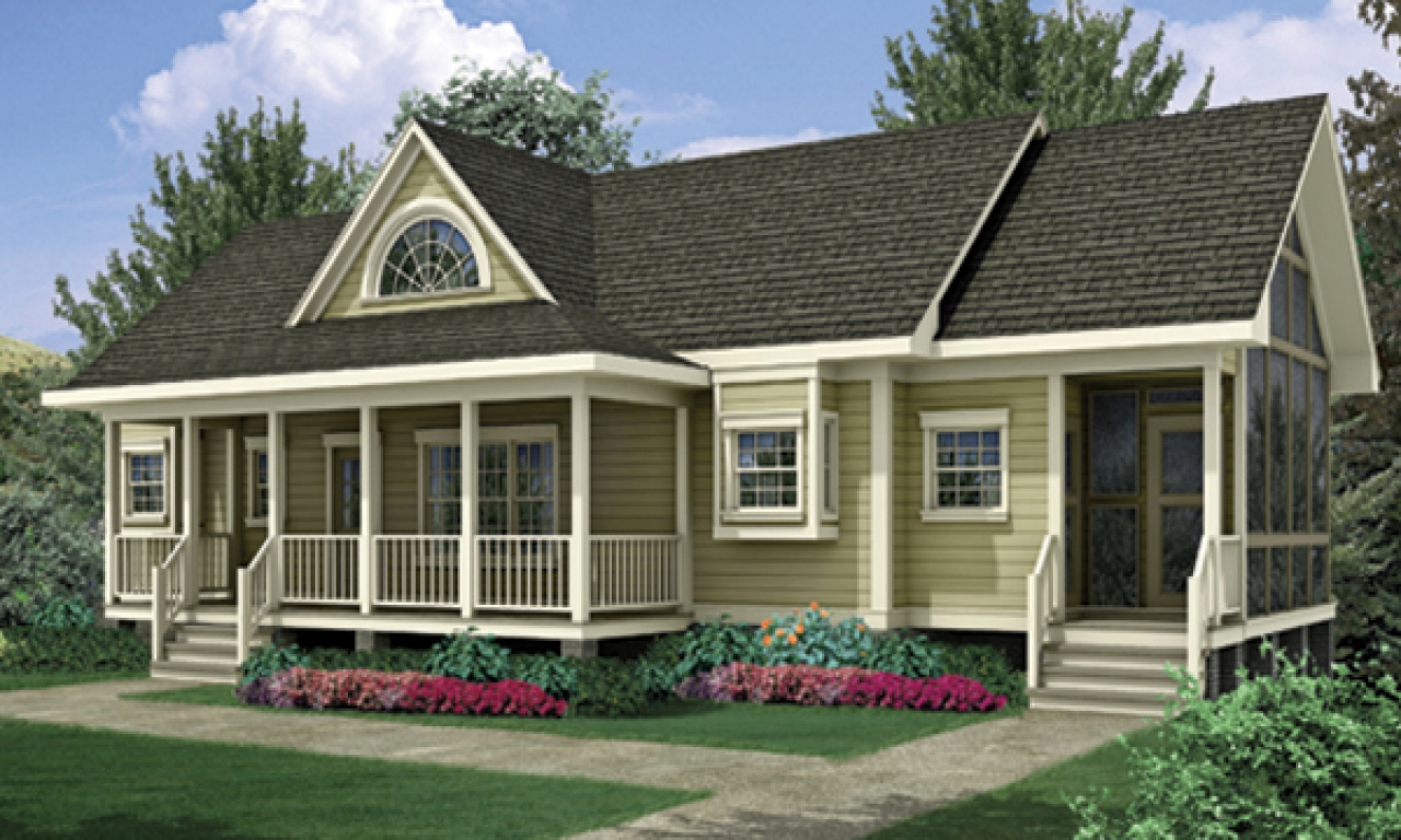 One Level House Plans: Modern One Level House Plans House Plans One Level Homes