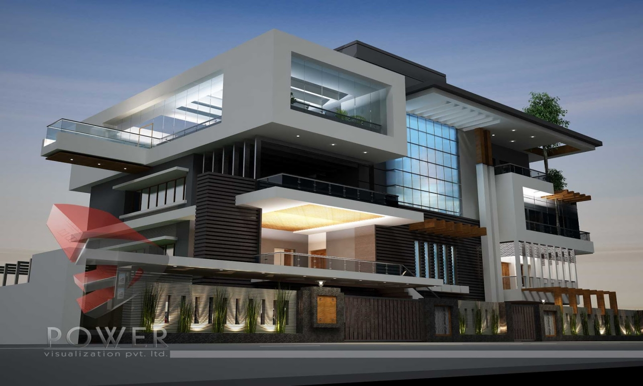 Ultra modern home designs ultra contemporary house modern - Modern contemporary house plans designs ...
