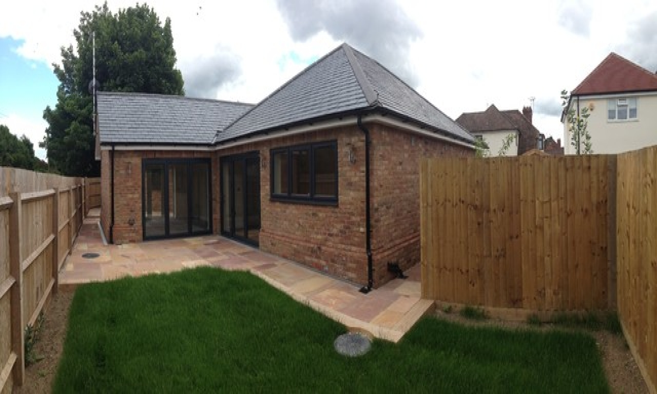 Updated Bungalow New Build Bungalow Modern New Build