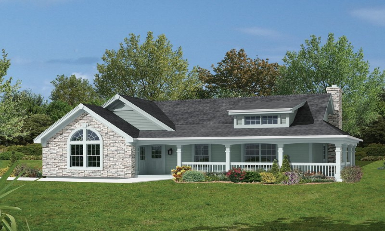 Bungalow House Plans With Attached Garage Bungalow House