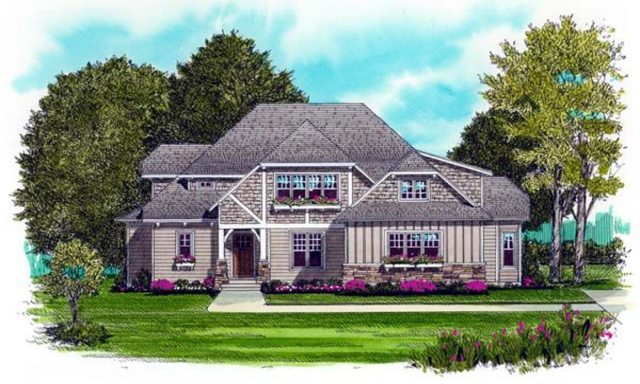 Craftsman Style Bungalow House Plans Modern Ranch Style