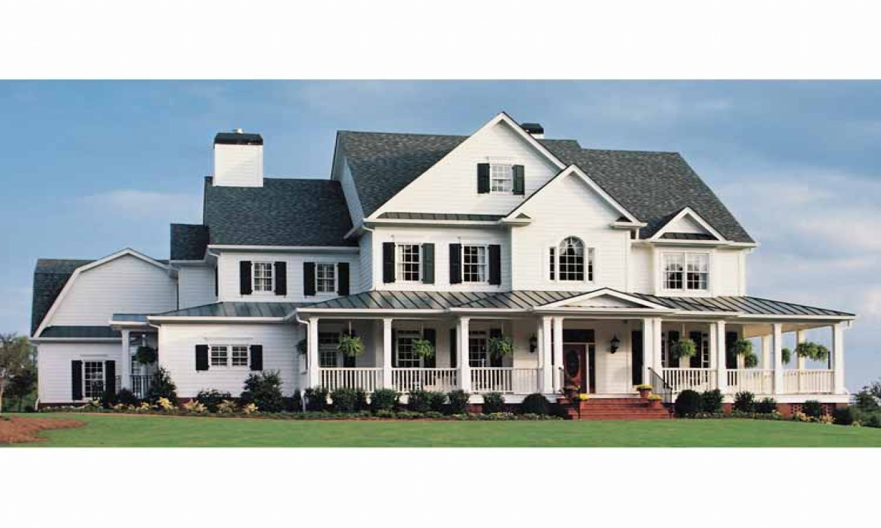 Farmhouse House Plans With Basement Country Farmhouse