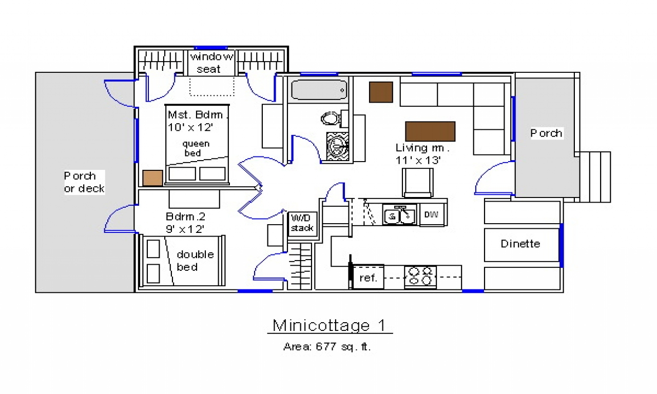 Free Tiny House Plans Free Tiny House Plans 8 X 20 Mini