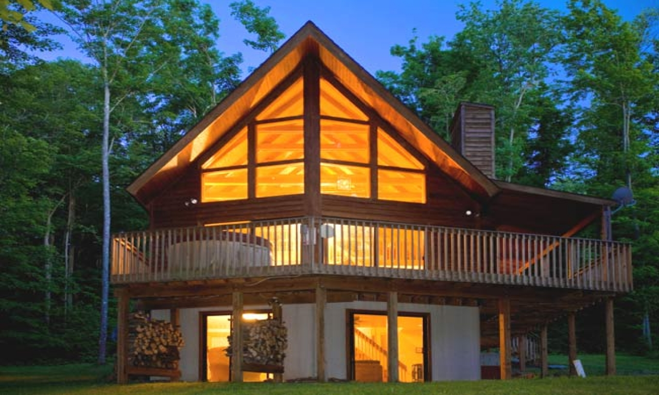 Inexpensive modular homes log cabin modular log home for Log homes floor plans and prices