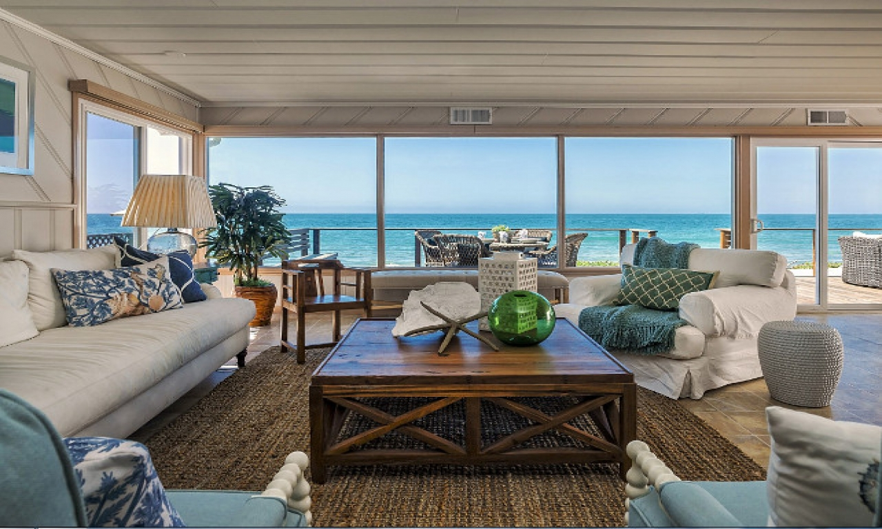 Interior Beach House Decor Living Room Ocean Beach House