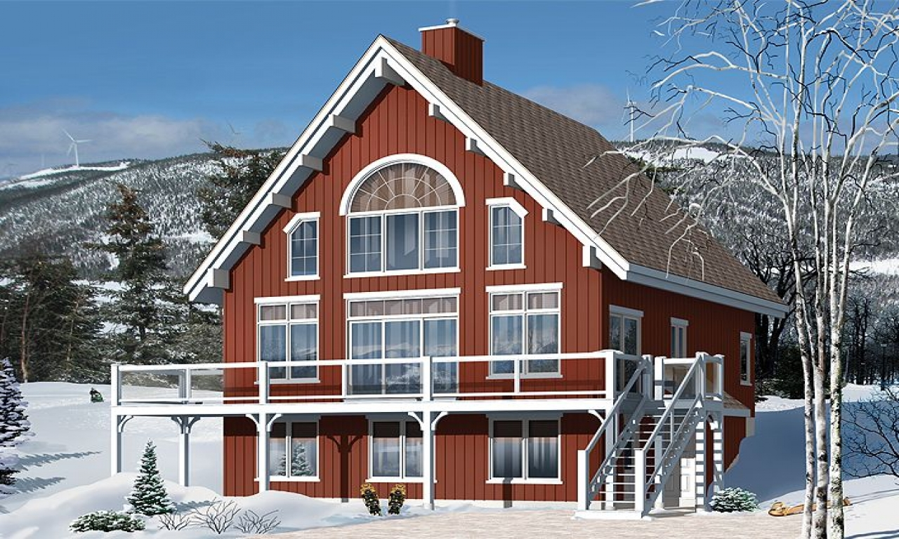 Mountain chalet house plans small chalet house plans for Mountain chalet plans