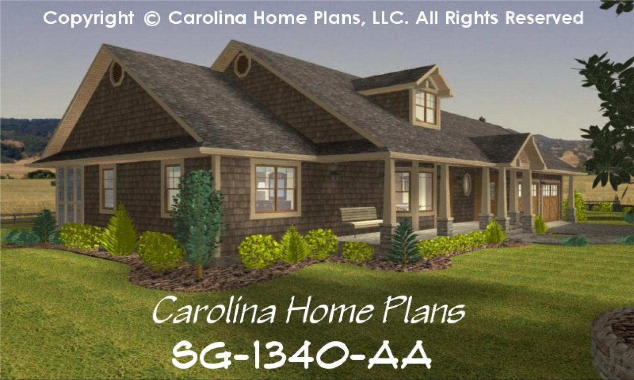 Small mediterranean style homes small craftsman style home for Small craftsman house