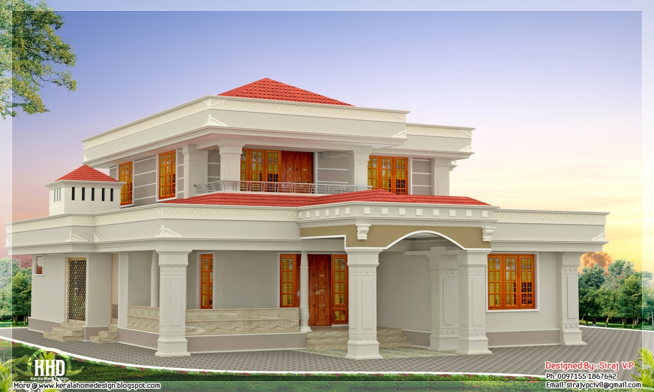The most beautiful houses ever beautiful indian house for Most beautiful house plans